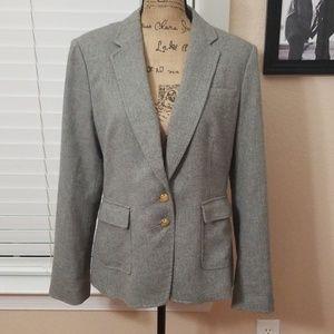 Bananna Republic Grey Blazer Jacket size 14